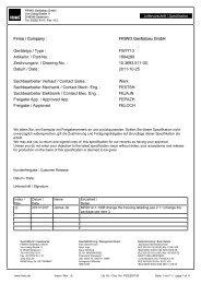 FW7713 Artikelnr. / Part-No. - SOS electronic