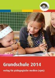 Gesamtverzeichnis vpm - Grundschule 2014
