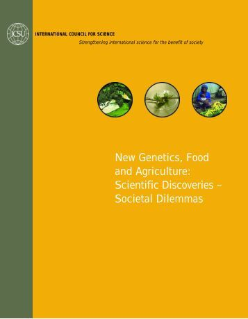 New Genetics, Food and Agriculture: Scientific ... - ArgenBio