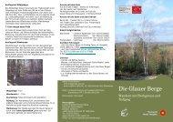 Glauer Berge - - Naturpark Nuthe-Nieplitz