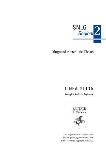 Diagnosi e cura dell'ictus - SNLG-ISS