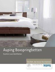 Auping Boxspringbetten