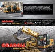 Download Gradall excavator attachments brochure