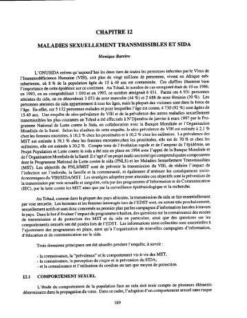 Tchad Chapitre 12 - Measure DHS