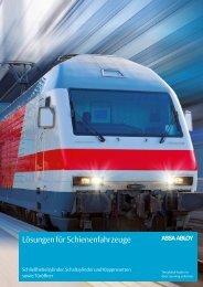 Lösungen für Schienenfahrzeuge - Assa Abloy
