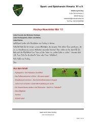newsletter 201305.pdf - Vimaria Weimar
