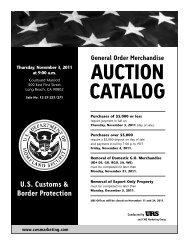 AUCTION CATALOG - CWS Marketing Group