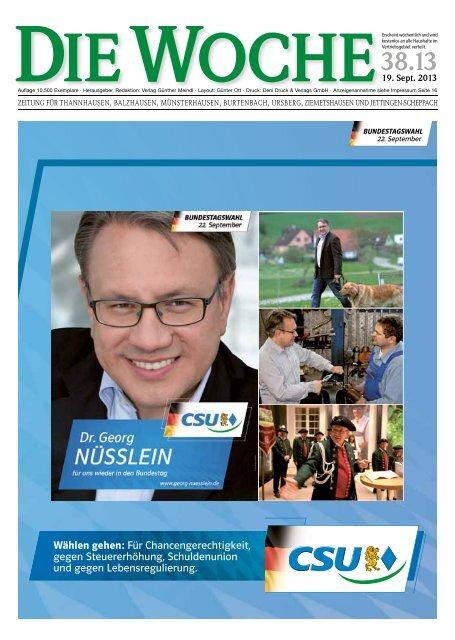Ausgabe 38/13 - Redaktion + Verlag