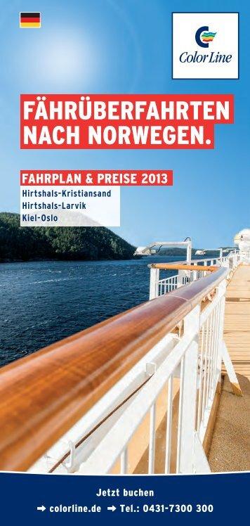 FÄHrÜberFaHrTen naCH norweGen. - Basefarm.net