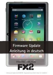 Firmware Update Anleitung in deutsch - Intracon GmbH