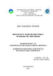REZUMAT - Read Only - USAMV Cluj-Napoca