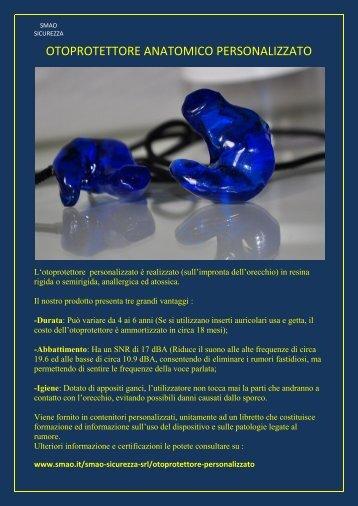 catalogo protezione udito - SMAO