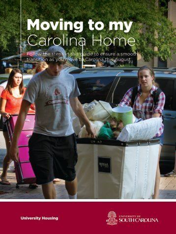 Move-In Guide - University Housing - University of South Carolina