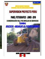 17 Fotos - Junio 2010 Haga clic para descargar ... - Provias Nacional