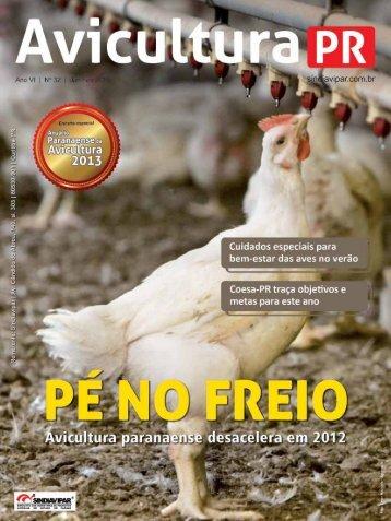 Revista Avicultura - Sindiavipar