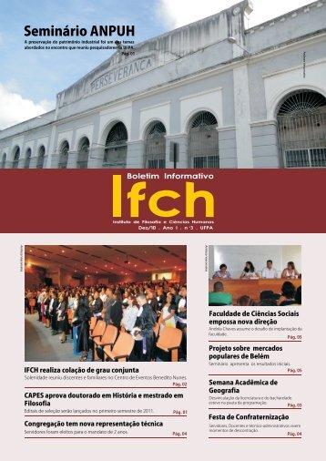IFCH - Informativo - EDIÇÃO DEZEMBRO - Universidade Federal do ...