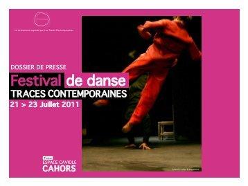4ème édition du Festival de danse Traces Contemporaines - Cahors