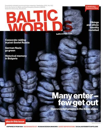 Please download issue 2 2013 here. - balticworlds.com