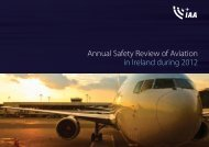 IAA Annual Safety Review 2012 - Irish Aviation Authority