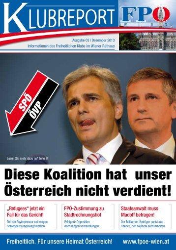 Diese Koalition hat unser Österreich nicht verdient! - FPÖ