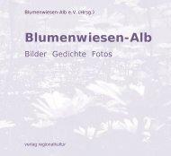 Blumenwiesen-Alb - Verlag Regionalkultur
