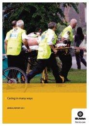 Annual Report 2011 - St John