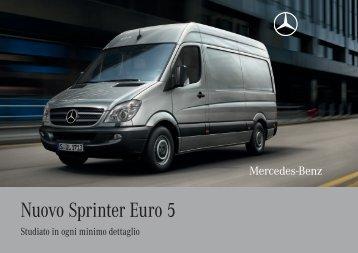 Nuovo Sprinter Euro 5 - Mercedes-Benz Italia