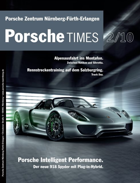 Porsche Intelligent Performance.