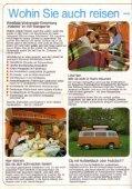 """Westfalia, ca. 1976, """"VW-Transporter Wohnmobil-Einrichtungen"""" - Page 2"""