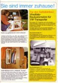"""Westfalia, ca. 1976, """"VW-Transporter Wohnmobil-Einrichtungen"""" - Page 3"""