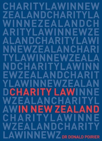 Charity Law in New Zealand by Dr Donald Poirier (PDF ... - Charities