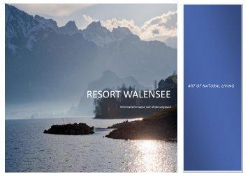 hier! - Resort Walensee