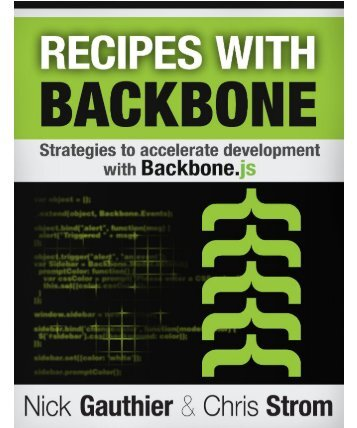 Recipes with Backbone - trrrm