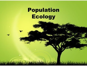 Population Ecology - ibiocideb