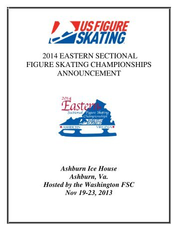 2014 EASTERN SECTIONAL FIGURE SKATING ... - US Figure Skating