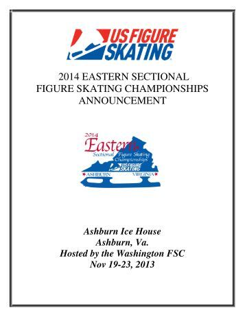 2014 EASTERN SECTIONAL FIGURE SKATING ... - US Figure Skating