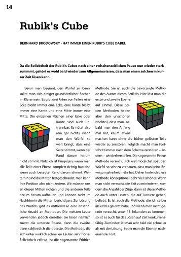 Rubik's Cube - Vis