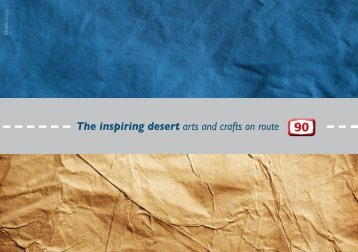 The inspiring desert arts and crafts on route - Central Arava ...
