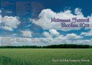 Midsummer Festival Brochure 2013 - Great Waltham Parish