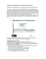BrancheBarometer Productietechnologie - MCB Nederland B.V.