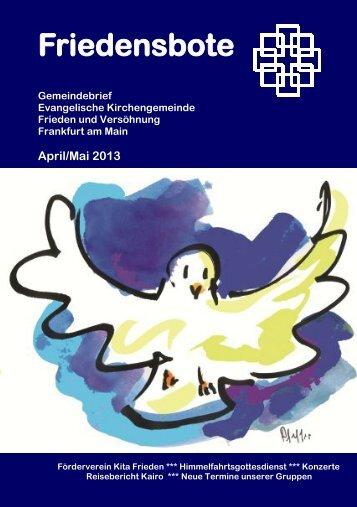 Friedensbote - friedenundversoehnung.de