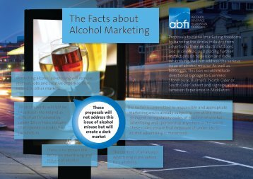 The Facts about Alcohol Marketing - ABFI