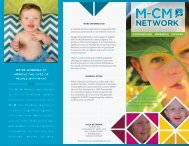 download a PDF of the brochure here - M-CM Network
