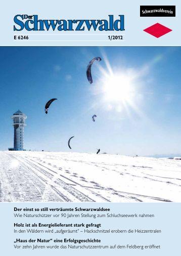 Ausgabe 1/2012 - Schwarzwaldverein