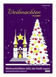 Anzeiger Luzern, Ausgabe WB, 28. Dezember 2011