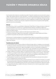 Flexión y Presión dinamiCa eóliCa - Trespa.info