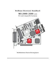 ME-2600 1.81D - Produktinfo.conrad.com
