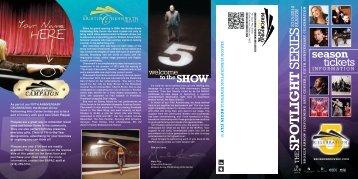download the 2013-14 season brochure - Broken Arrow Performing ...
