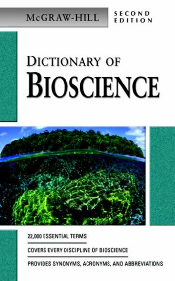 McGraw-Hill Dictionary of Bioscience. Second Edition.