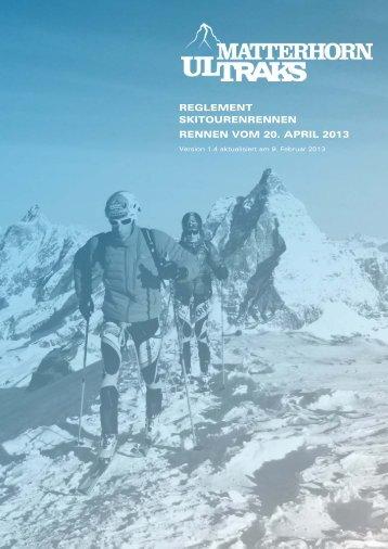 Vollständiges Reglement - Matterhorn Ultraks